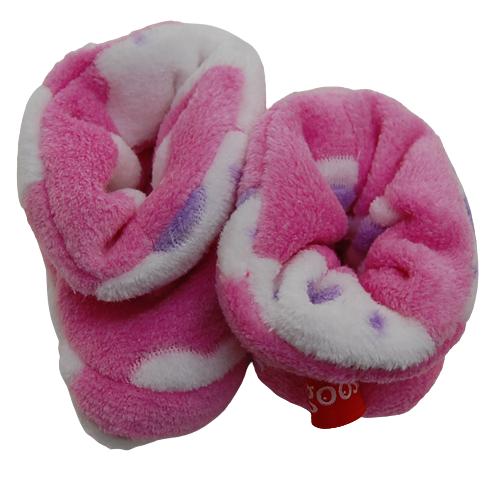 Bootie pink bear