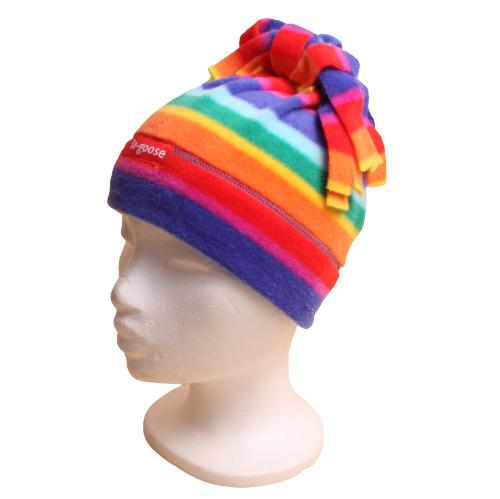 rainbow fringe hat