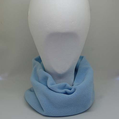 blue snood