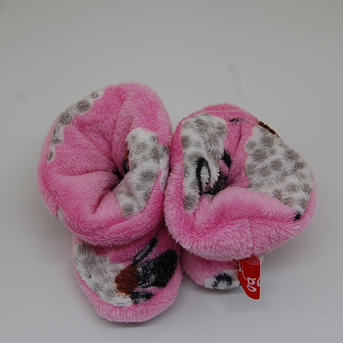 pink sheep bootie