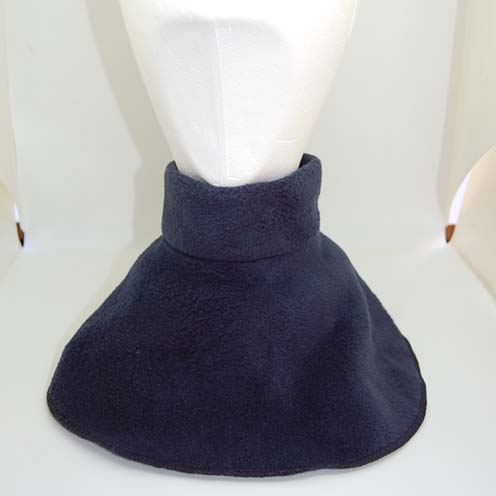 navy neckwarmer