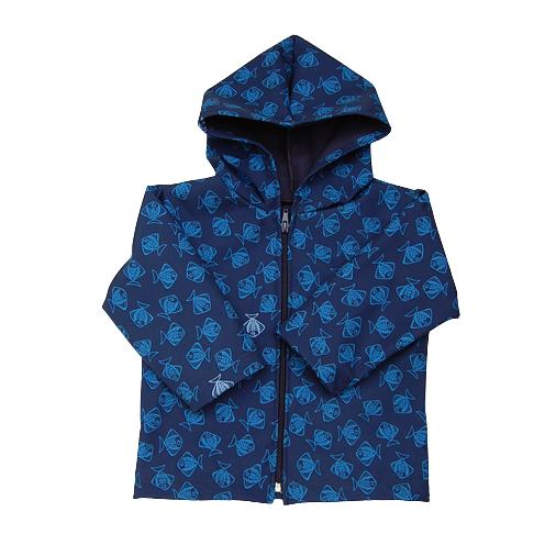 Navyfish raincoat