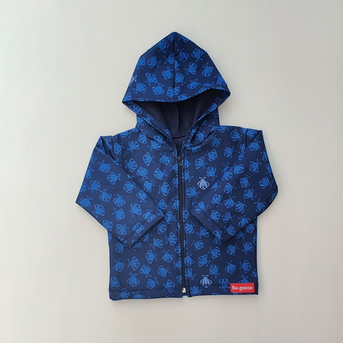 raincoat navy fish
