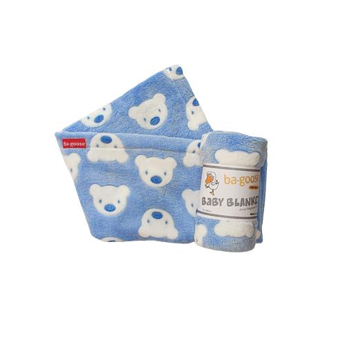 blue bear blanket
