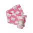 pink bear blanket