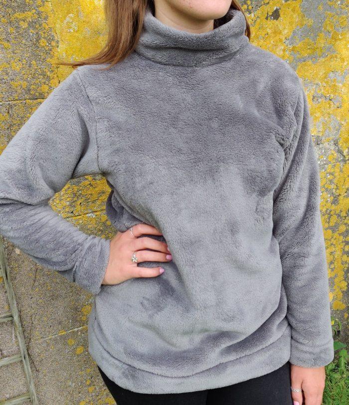 grey cuddle fleece