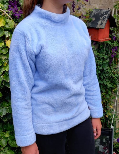 blue adult fleece