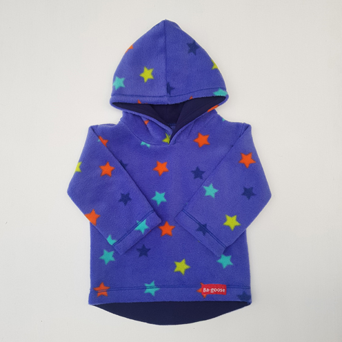 indigo star fleece