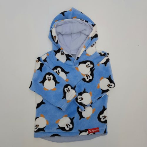 blue penguin fleece