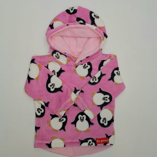 pink penguin fleece