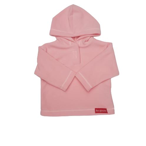 soft pink fleece