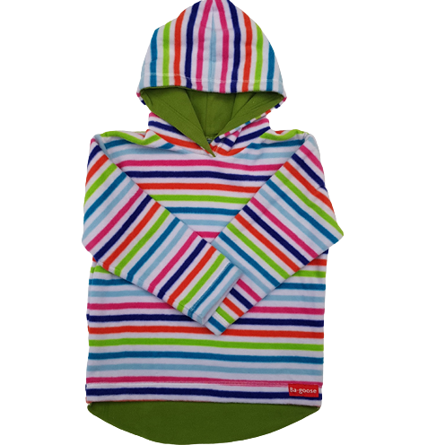 candy stripe fleece