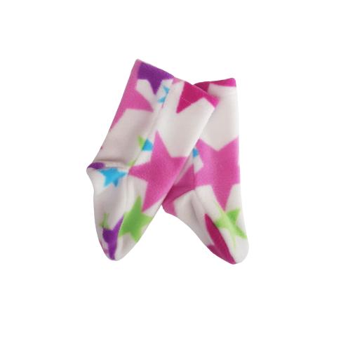 sling sock white star